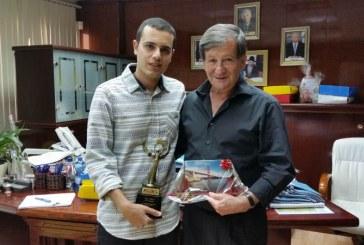 צעיר מנהריה זכה בפרס בתחרות קולנוע