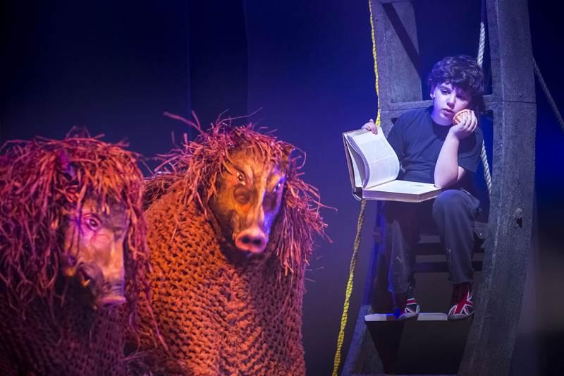 """יאסו: הצגת ילדים """"מסעות אודיסאוס"""" עולה בתיאטרון גשר"""