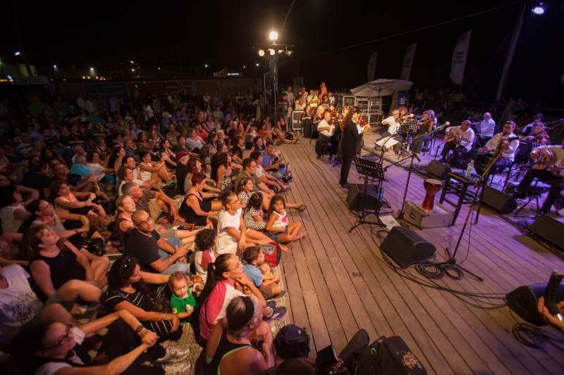 """ת""""א: אלפים צפו במופע של התזמורת האנדלוסית"""