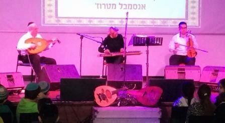לראשונה: קונצרט יהודי–ערבי