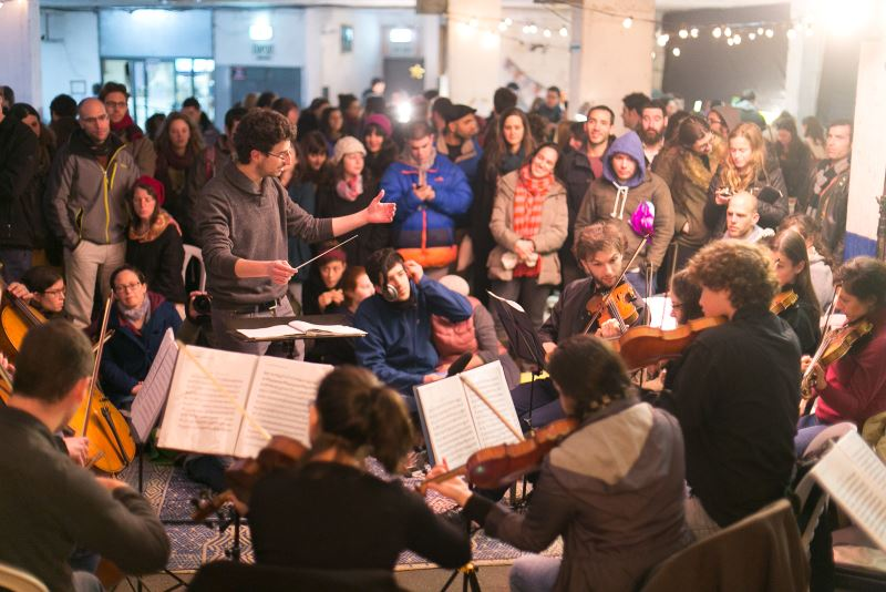 י-ם: רבבות השתתפו ב'שאון חורף'