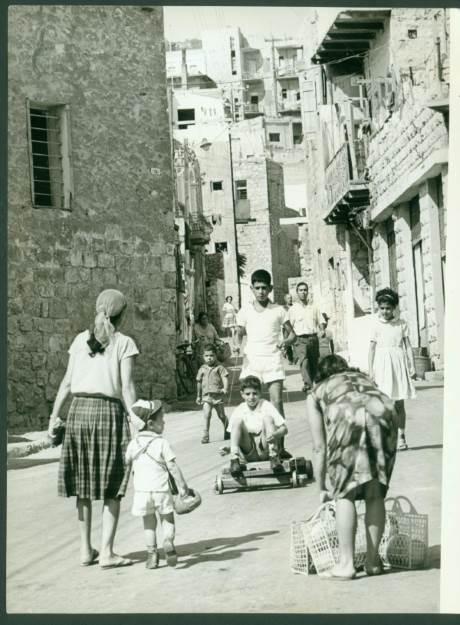 בחזרה לעבר. ואדי סאליב, 1965|צילום: אמנון בר טור