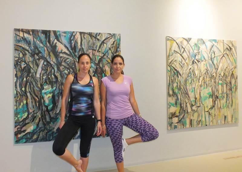 משלבים יוגה ואמנות