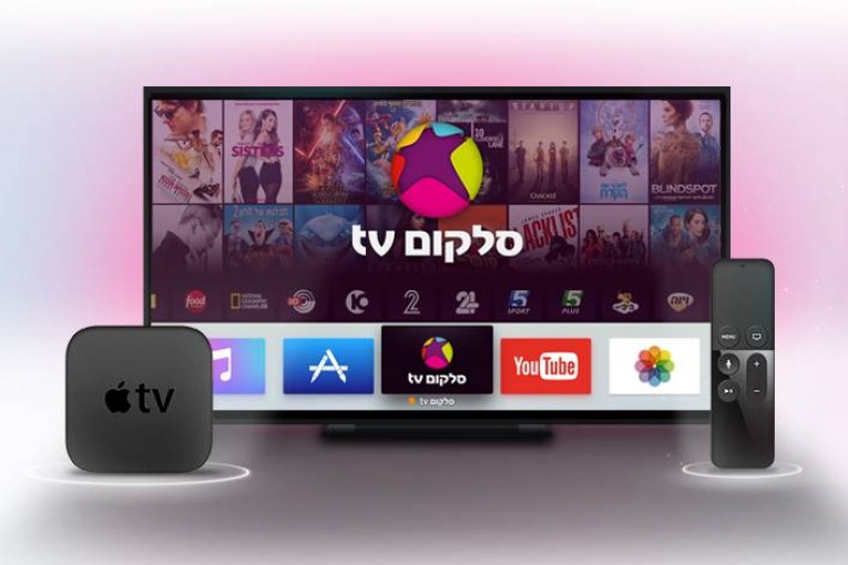 סלקום TV ב-Apple TV