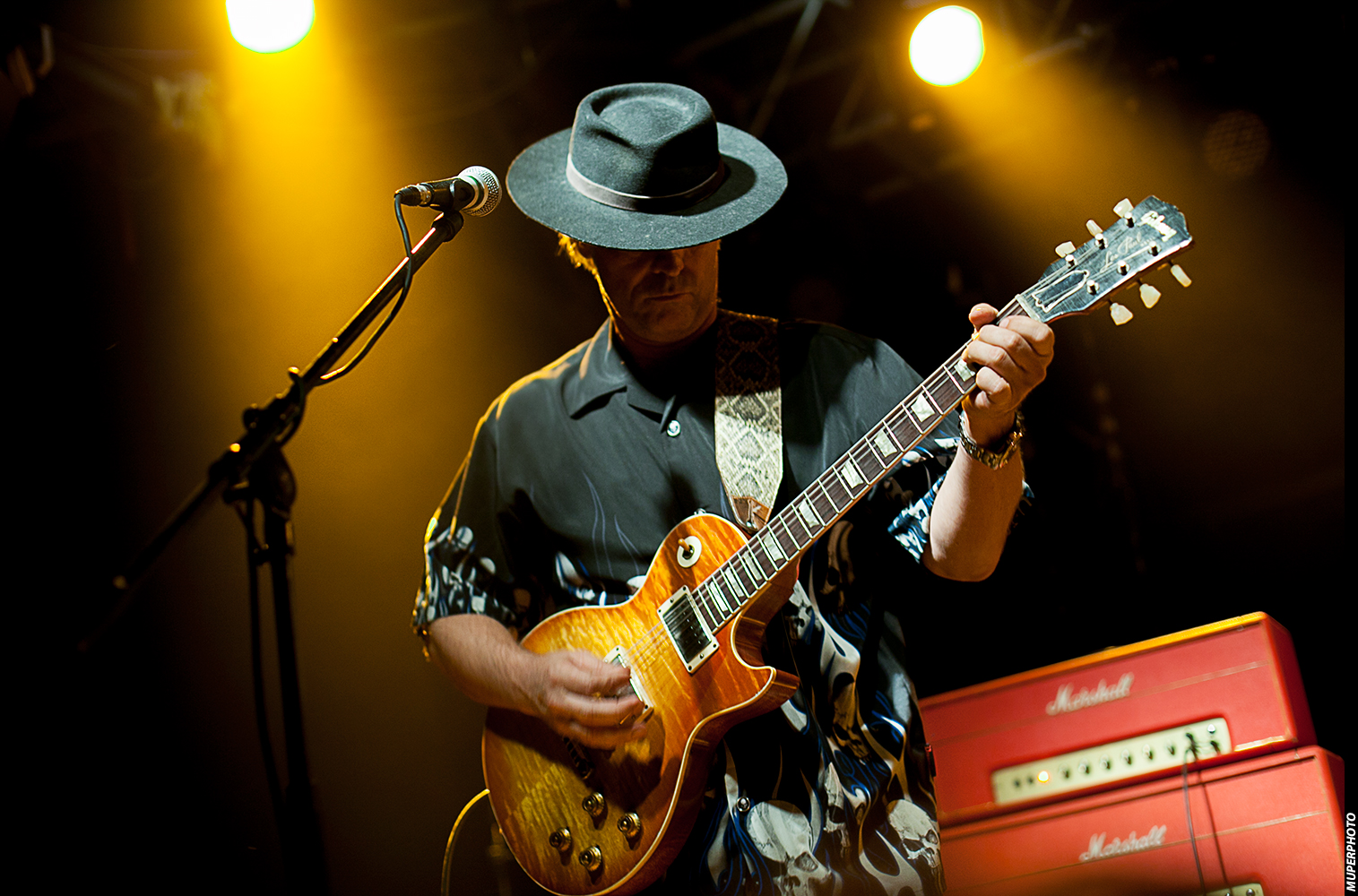 אמן הבלוז והגיטריסט אנדי וואטס במופע חדש עם מאור כהן ומיטב אמני הבלוז בארץ: רוי יאנג ודני שושן