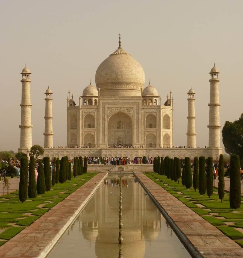 הטאג מאהל, הודו|אתר: pixabay.com