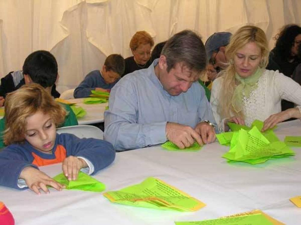 אוריגמי למשפחות במוזיאון הרצליה|צילום:באדיבות מוזיאון הרצליה