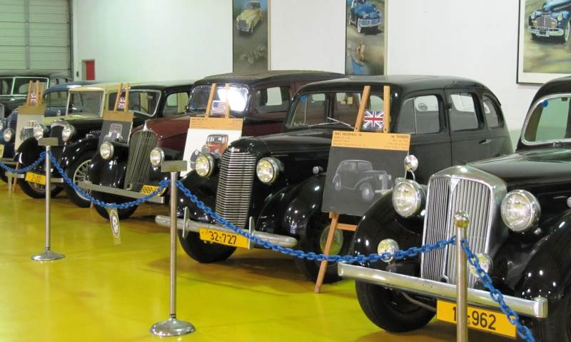 גיל הזהב. תצוגת המכוניות במוזיאון תפן|צילום: יעל שביט