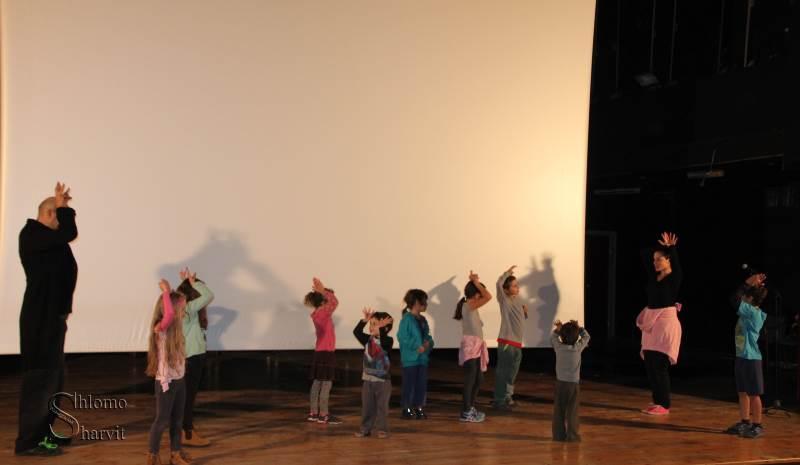 סרטים וגם אירועים לילדים. דוקאביב 2015 צילום: שלמה שרביט