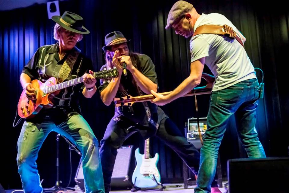 שיתוף פעולה מרתק. Blues Rebels The|צילום: פיטר ויט