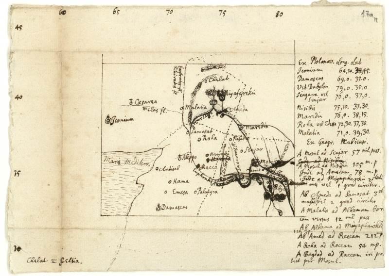 אמונה ומדע. כתב יד של ניוטון|צילום: באדיבות הספרייה הלאומית