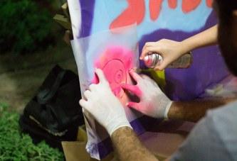 הפנינג גרפיטי ואמנות רחוב ביפו