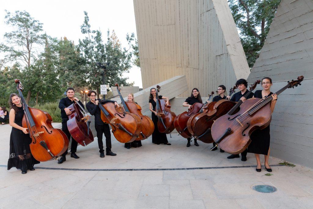 """חברי התזמורת הפילהרמונית הצעירה   צילום : יח""""צ"""